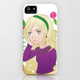 Luna Ornament iPhone Case