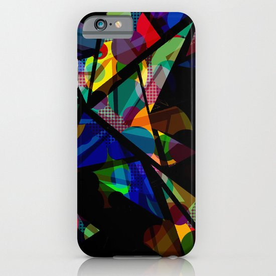 Geometric Splash iPhone & iPod Case