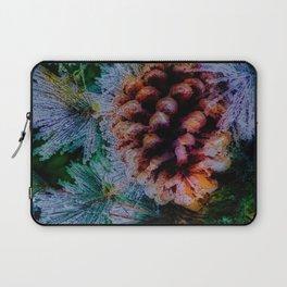 Vibrant Evergreen Christmas Laptop Sleeve