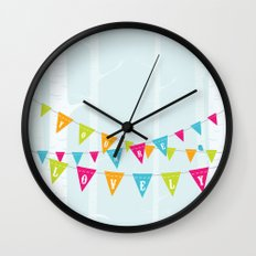 You Are Lovely Wall Clock