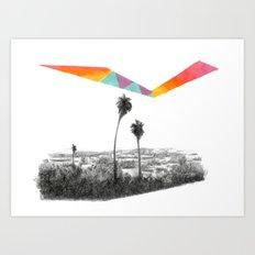 L.A. Art Print