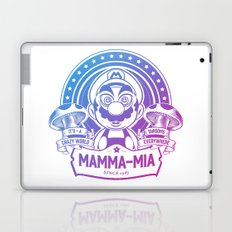 Mamma Mia Super Mario is-a Crazy Laptop & iPad Skin