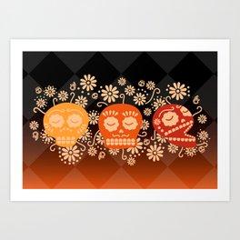 Day of the Dead ~ Dias de los Muertos Art Print