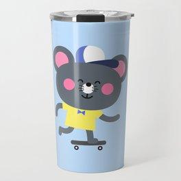 Cool Skateboard Mouse Travel Mug