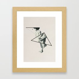 Geometric 3 Framed Art Print