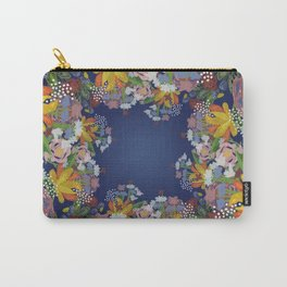 Encircled Garden Carry-All Pouch