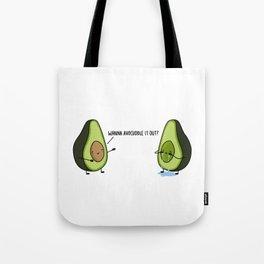 Avocuddle Tote Bag