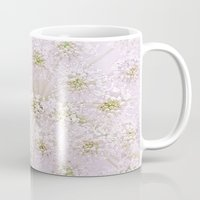lace Mugs featuring Lace by Jacky Parker Floral Art