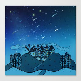 City of Stars Canvas Print