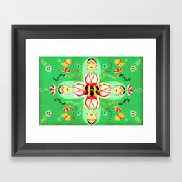 Jewel Tones Framed Art Print