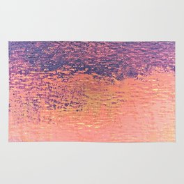 Playing With Pink And Purple Clouds Rug