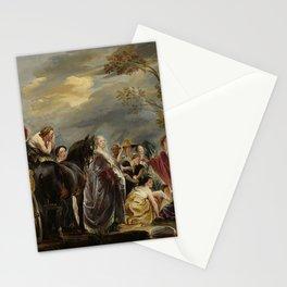 Jacob Jordaens I - The Meeting of Odysseus and Nausicaa Stationery Cards