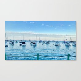 BOATS@REST Canvas Print