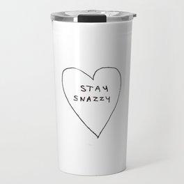 Stay snazzy Travel Mug