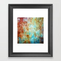 Grunge 'n' Rust Framed Art Print