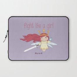 Fight Like a Girl - Aurora ~ Child of Light Laptop Sleeve