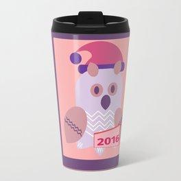 owl girl Travel Mug