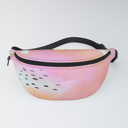 Abstract colour splash Fanny Pack
