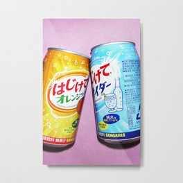 Soda pop art! #1 Metal Print