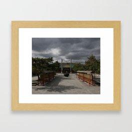Hohhot Framed Art Print