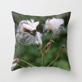 Fluff2 Throw Pillow