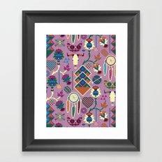 Bohemian&Tribal Framed Art Print