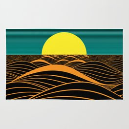 Emerald Sunset Rug