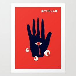 Othello Art Print