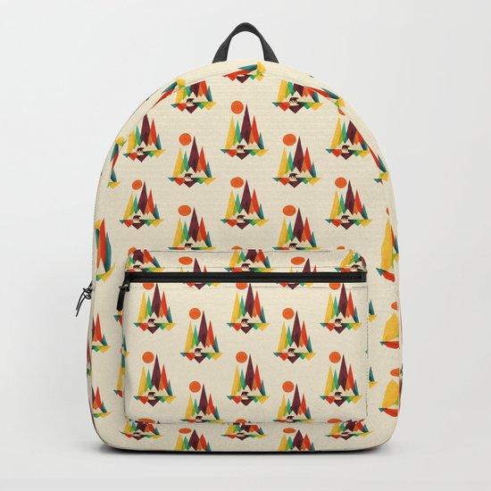 Bear In Whimsical Wild Backpack