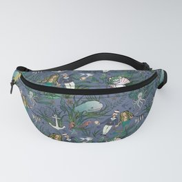 The Siren and the Sailor (La Sirène et le Marin) Fanny Pack
