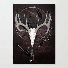 Ravenstag Canvas Print