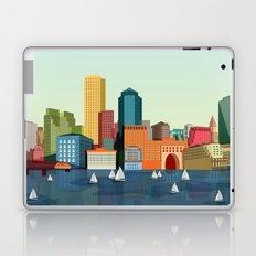 City Boston Laptop & iPad Skin