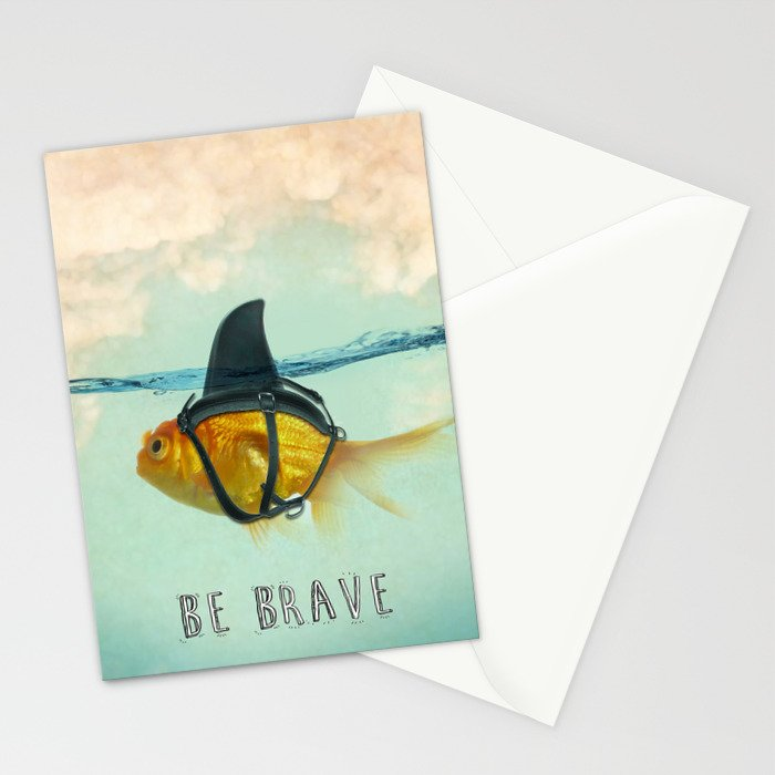 Be Brave - Brilliant Disguise Stationery Cards