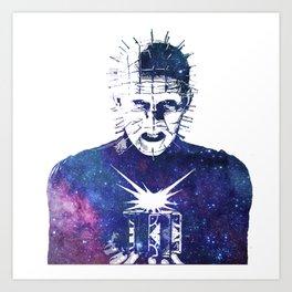 Galaxy Pinhead Doug Bradley Hellraiser Art Print