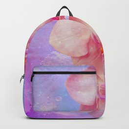 Rosa Orchideen Backpack