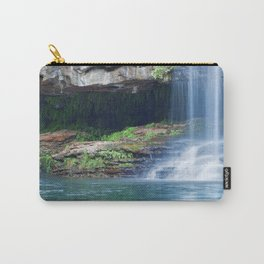 Waterfalls at Fern Pool in Karijini National Park, Western Australia Carry-All Pouch