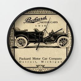 Pachard - Vintage Poster Wall Clock