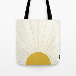 Sunrise / Sunset Minimalism Tote Bag