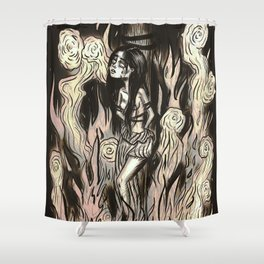 Burn the witch! Shower Curtain