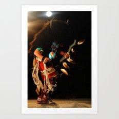 Buffalo Dancer Art Print