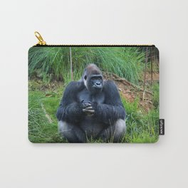 Gorilla Waiting For Lunch Carry-All Pouch