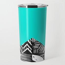 Sky lino bright Travel Mug