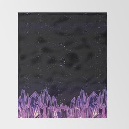 Dark Crystal Throw Blanket
