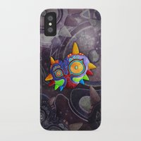 majoras mask iPhone & iPod Cases featuring The Lost Mask by Sergio A.M.