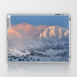 Mulhacen 3479 meters at sunset Laptop & iPad Skin