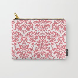 Elegant Damask Pattern (pink) Carry-All Pouch