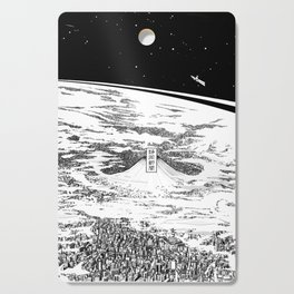 Space upon us Cutting Board