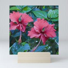 Pink Princess Flowers Mini Art Print