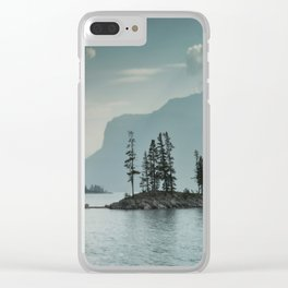 Obscured Thoughts Clear iPhone Case