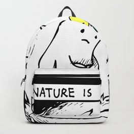 Nature Is Cool Backpack